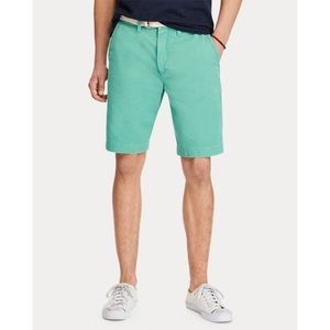 """NWT Ralph Lauren Men's 10"""" Relaxed Chino Fit"""
